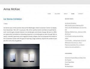 Anna McKee - Site Upgrade