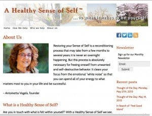 Healthy Sense of Self - Advanced Site