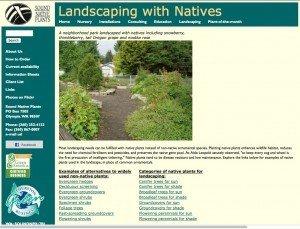Sound Native Plants - Major Site Upgrade