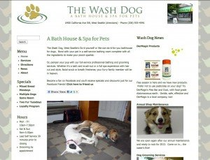 The Wash Dog - Standard Site