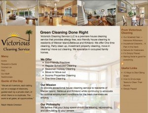 Victorious House Cleaning - Standard Site