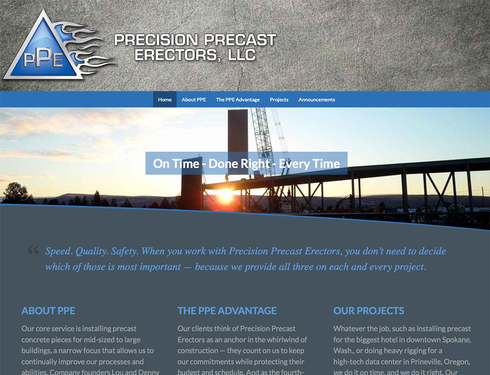 PPE, LLC -- Standard Site