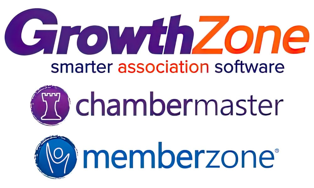 RealBasics can work with GrowthZone, ChamberMaster, and MemberZone membership tools.