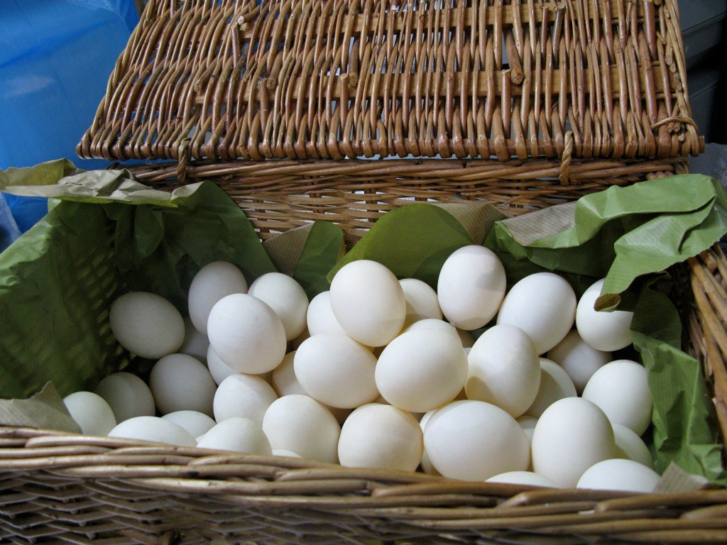 """Eggs in One Basket"" by Flickr user John U."