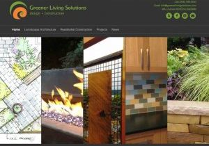 We loved rebuilding the Greener Living Solutions website